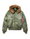 Куртка Alpha Industries N-2B Short Waist Parka (короткая) Sage Green