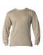 Футболка с рукавом Rothco Long Sleeve Solid T-Shirt Khaki