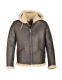 Куртка SCHOTT Hoodie Shearling Sheepskin B-6 2B6 Brown