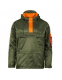 Куртка анорак Alpha Industries Seafarer Anorak Sage/Orange