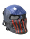 Маска защитная Kombat UK Skull Mesh Mask - USA