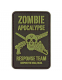 "Патч Kombat UK ""Zombie Apocalypse"" PVC Patch"