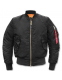 Куртка летная Alpha Industries MA-1 Bomber Jacket Black