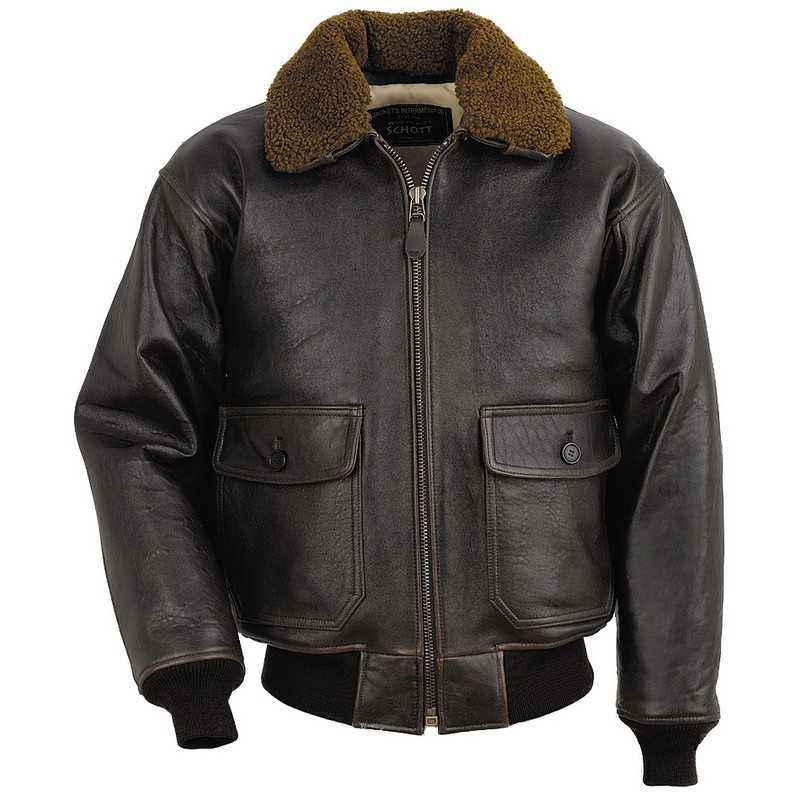 Куртка кожаная летная