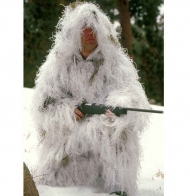 Костюм снайпера Rothco Bushrag Ultralight Ghillie Snow