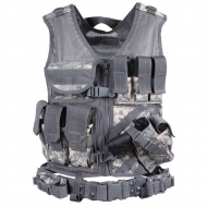 Жилет разгрузочный Rothco Cross Draw MOLLE Tactical AUniv