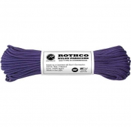 Корд Rothco Nylon Paracord Type III 550lb Purple