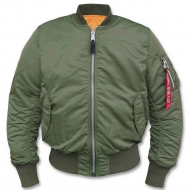 Куртка летная Alpha Industries MA-1 Sage Green