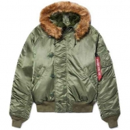 Куртка Alpha Industries N-2B Parka (короткая) Sage Green