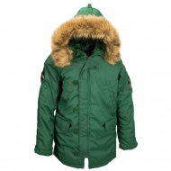 Куртка зимняя Alpha Industries Altitude Parka Forest Green