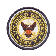 "Нашивка Rothco ""US Navy"" Round Patch"
