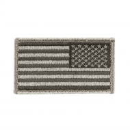 "Нашивка Rothco ""American Flag"" Patch - Foliage Green - Reverse"