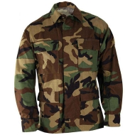 Куртка полевая BDU Genuine Gear Woodland Camo Ripstop