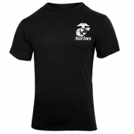 Футболка Rothco Marines ''Pain Is Weakness'' T-Shirt Black