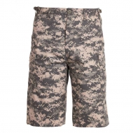 Шорты удлиненные Rothco BDU Camo Long Length ACU Digital