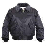 Куртка бомбер Rothco CWU-45P Flight Jacket - Black