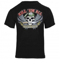 "Футболка Rothco ""Kill 'Em All"" T-Shirt Black"