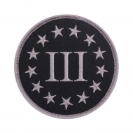 "Нашивка Rothco ""Three Percenter"" Patch"
