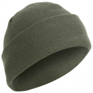 Шапка Акриловая Rothco Deluxe Fine Knit Watch Cap Foliage Green