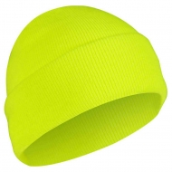 Шапка Акриловая Rothco Deluxe Fine Knit Watch Cap Safety Green