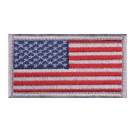 "Нашивка Rothco ""American Flag"" Patch - Red/White/Blue"