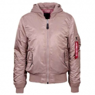 Куртка бомбер Alpha Industries MA-1 NATUS  Mauve