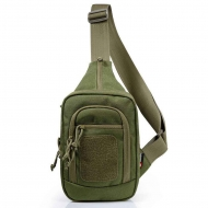 Сумка через плечо YAKEDA Tactical Cross Body Sling Bag Olive
