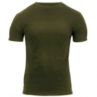 Футболка армейская Rothco Athletic Fit Military T-Shirt Olive