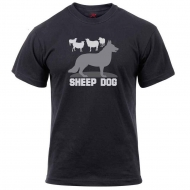 "Футболка Rothco ""Sheep Dog"" T-Shirt Black"