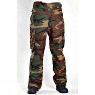 Брюки мембранные Arktis Waterproof Combat Trousers C310 - US Woodland