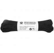 Корд Rothco Nylon Paracord Type III 550lb Black