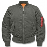 Куртка летная Alpha Industries MA-1 Gun Metal