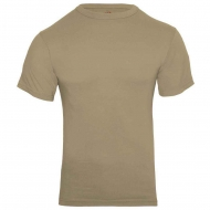 Футболка армейская Rothco Military T-Shirt Khaki