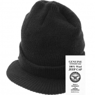 Шапка Rothco Genuine G.I. Jeep Cap Black
