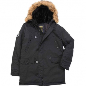 Куртка зимняя Alpha Industries Altitude Parka Gen I Black