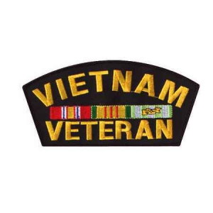"Нашивка Rothco ""Vietnam Veteran"" Patch 6''"