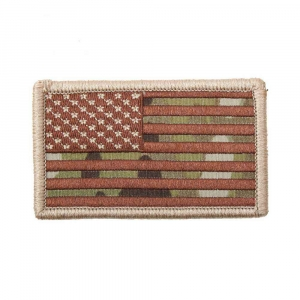 "Нашивка Rothco ""American Flag"" Patch - MultiCam"