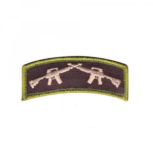 "Нашивка Rothco ""Crossed Rifles"" Patch"