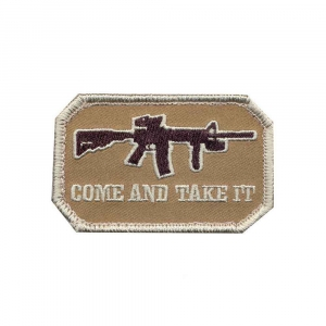 "Нашивка ""Come and Take It"" Patch"
