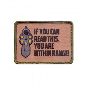 Нашивка Rothco ''If You Can Read This'' Patch