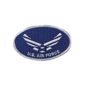 "Нашивка Rothco ""U.S. AIR FORCE"" Oval Patch"