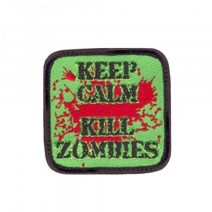 "Нашивка Rothco ""Keep Calm Kill Zombies"" Morale Patch"