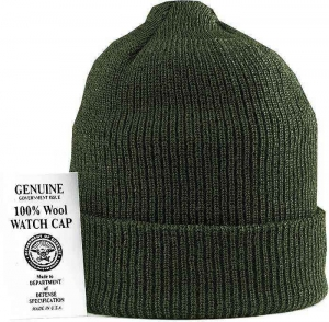 Шапка Genuine GI US Navy Watch Cap Olive